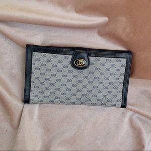 Vintage Gucci Trifold Wallet
